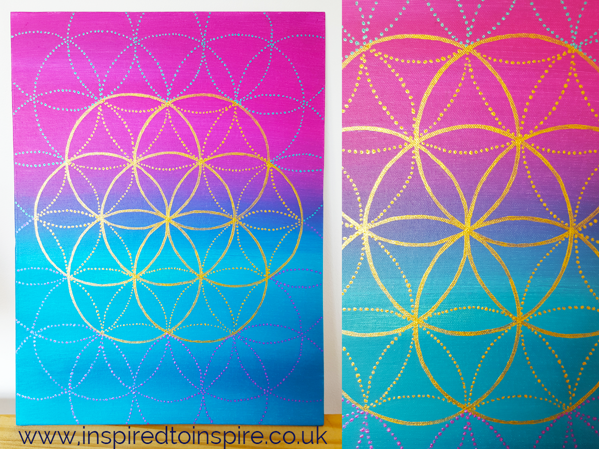 Sacred Geometry Success Art - Inspired to Inspire