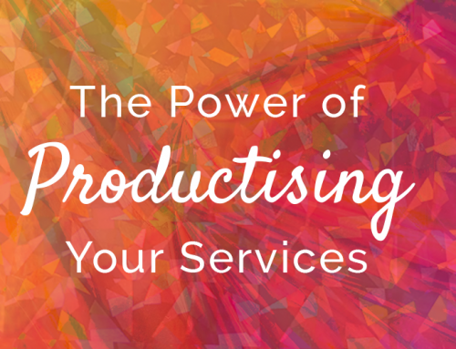 The Power of Productising Your Services