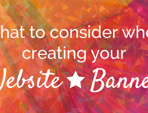What to consider when creating a website banner