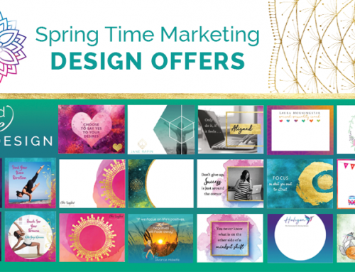 Spring Time Marketing Design Offers